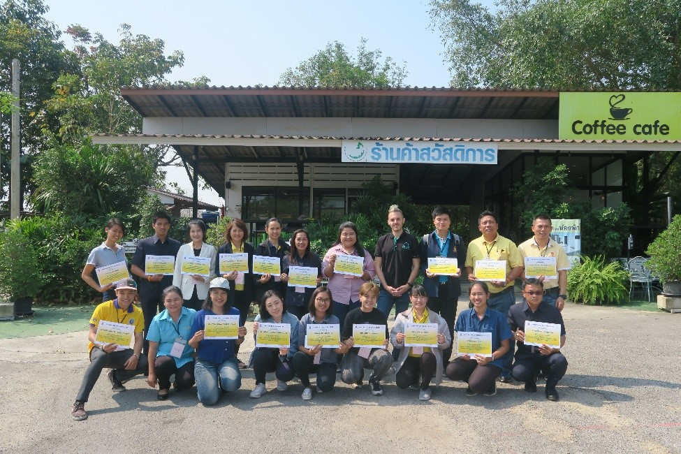 ORDPB Organized English Training Programme at the Huai Sai Royal Development Study Centre, Phetchaburi Province Between 10 – 13 March 2020